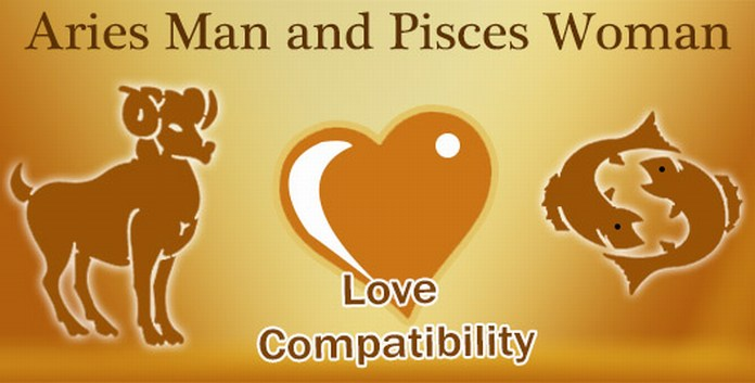 Pisces Woman and Aries Man