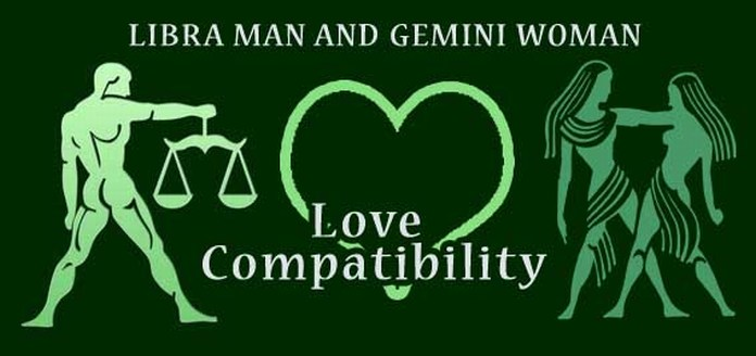 gemini man and libra woman love relationship