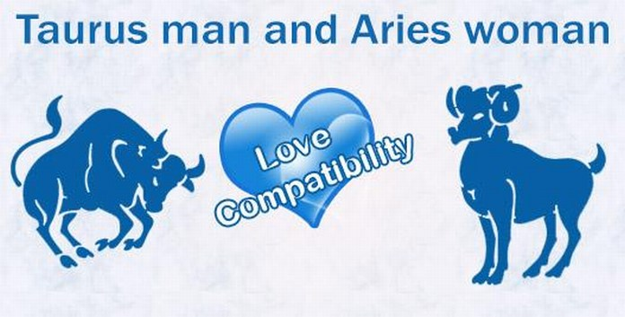 taurus male and aries female love compatibility