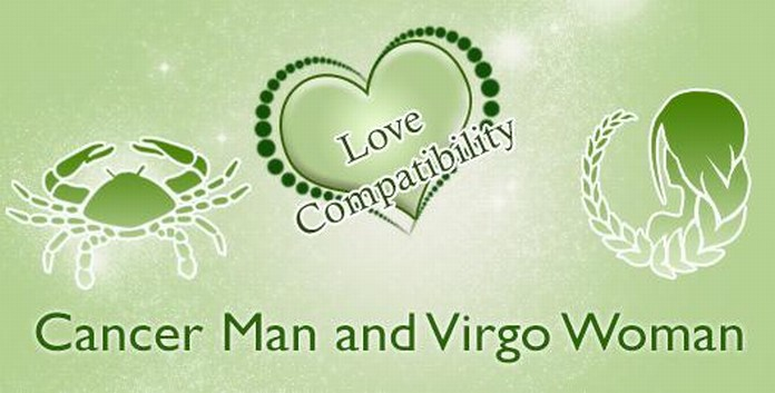 Cancer male and Virgo female Love Compatibility