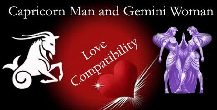 love match capricorn woman and gemini man Can you find love with any zodiac sign we say yes it's all about understanding the unique energies between your signs, which is determined by the distance between them here, we've decoded the seven major romantic compatibility matches in astrology use it to understand your current partner, make.