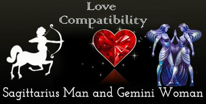 Sagittarius woman gemini man sexually