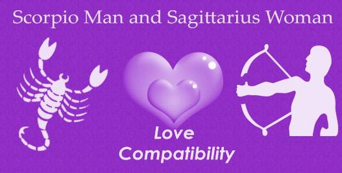 Scorpio Man and Sagittarius Woman Love Match