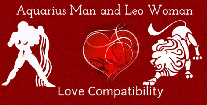 Leo Man Aquarius Woman Love Compatibility
