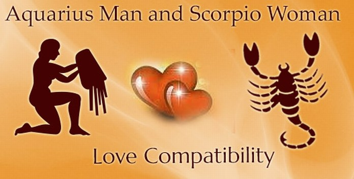 Aquarius man and scorpio woman sexually