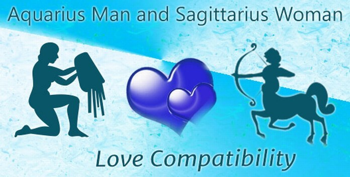 Love Compatibility Aquarius Man and Sagittarius Woman