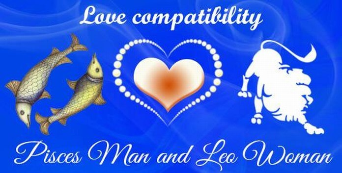 Pisces Man and Leo Woman Love Compatibility