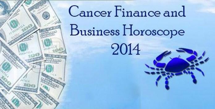 Cancer Finance Horoscope 2014