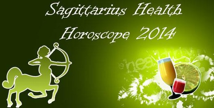 Sagittarius Health Horoscope 2014
