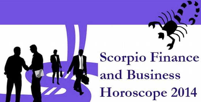 Scorpio 2014 Finance and Business Horoscope