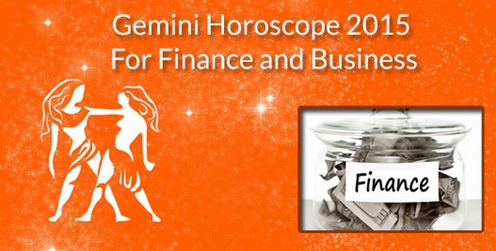 Gemini Horoscope 2015 For Finance