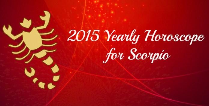 2015 Scorpio yearly Horoscope