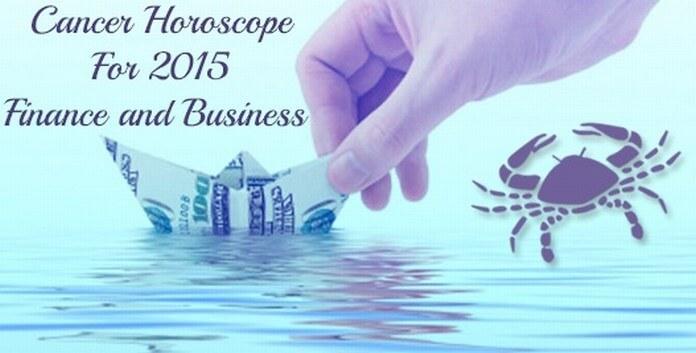 Cancer Finance Horoscope 2015