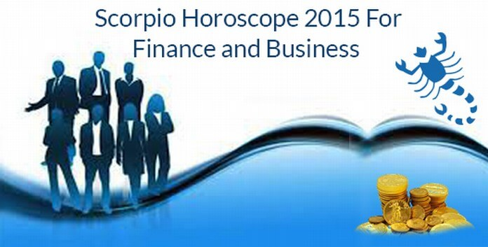 Finance Scorpio Horoscope 2015