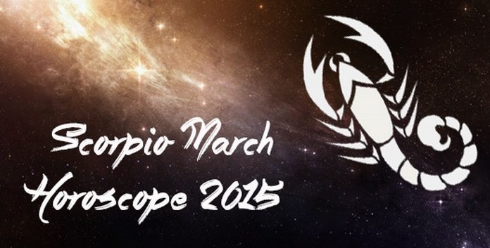 Scorpio March 2015 Monthly Horoscope