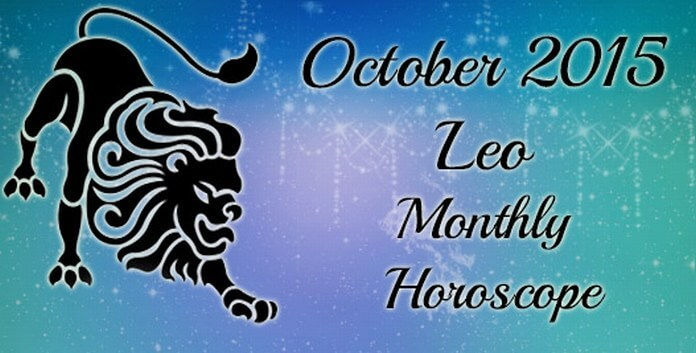 October 2015 leo Horoscope