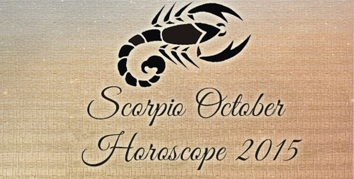 October 2015 Scorpio Monthly Horoscope
