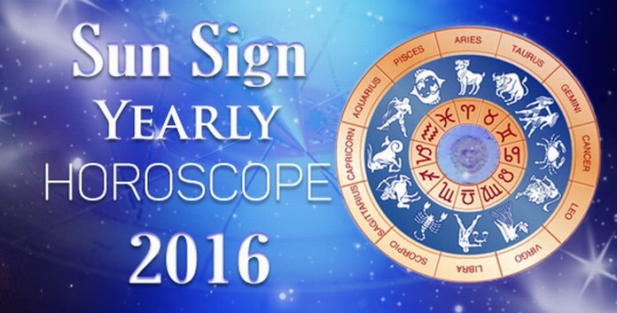 Yearly Horoscope 2016