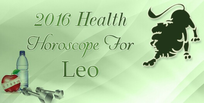 Health Horoscope For Leo 2016