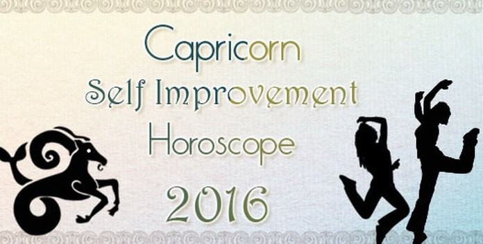 Capricorn Self Improvement Horoscope 2016