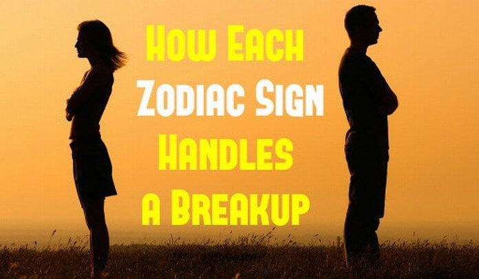Each Zodiac Sign Handles a Break Up