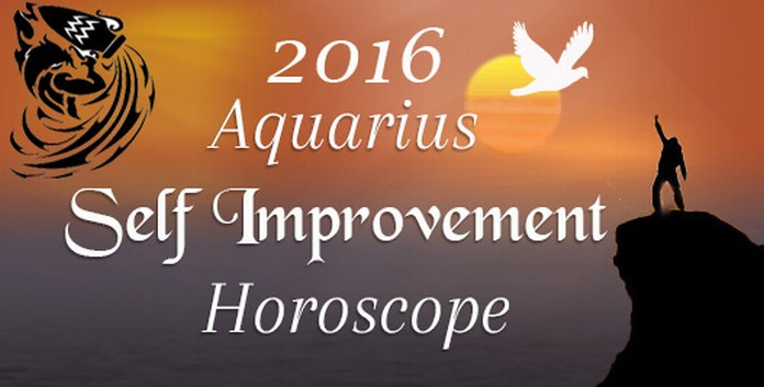 Aquarius Self Improvement Horoscope 2016