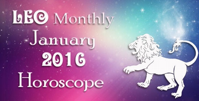 Leo January 2016 Horoscope