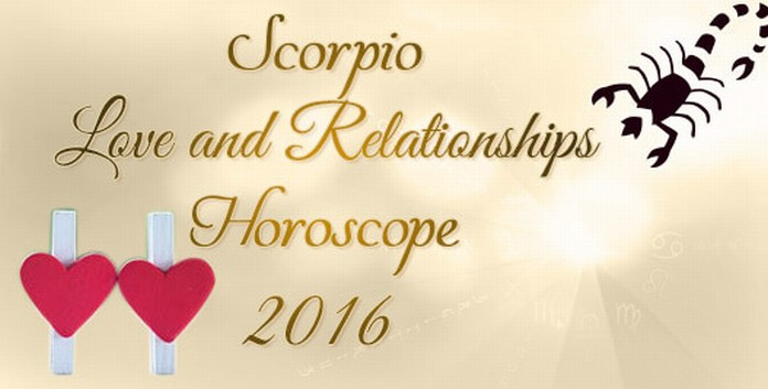 Scorpio Love Horoscope 2016