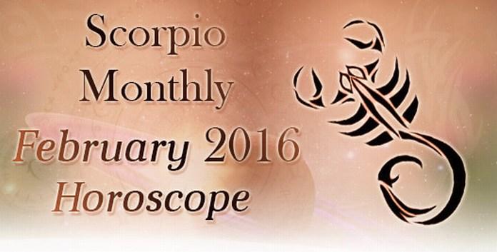 February 2016 Scorpio Horoscope