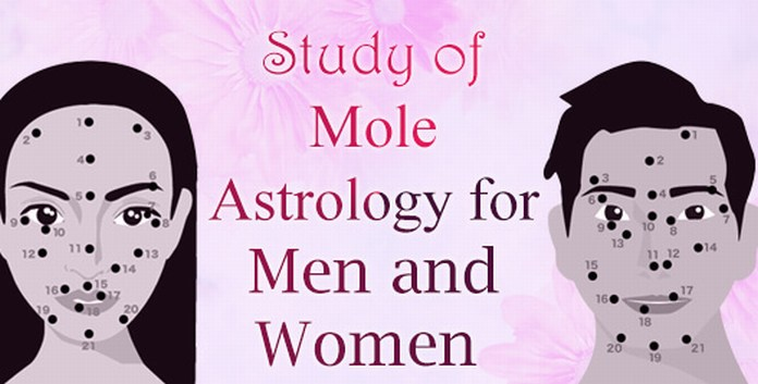 Mole Astrology for Men and Women