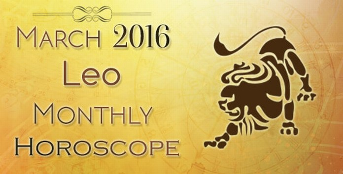 Leo March 2016 Horoscope