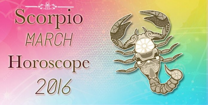 Horoscope Scorpio March 2016
