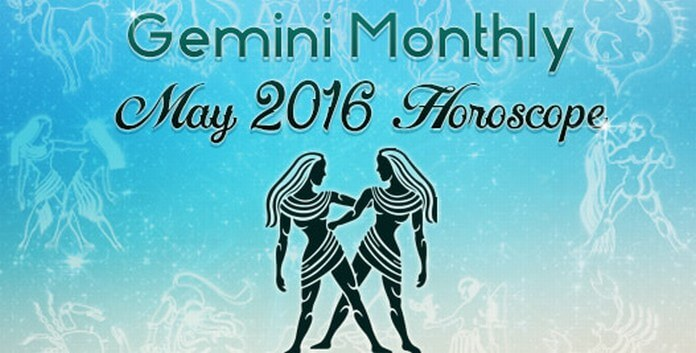 Gemini Monthly May 2016 Horoscope