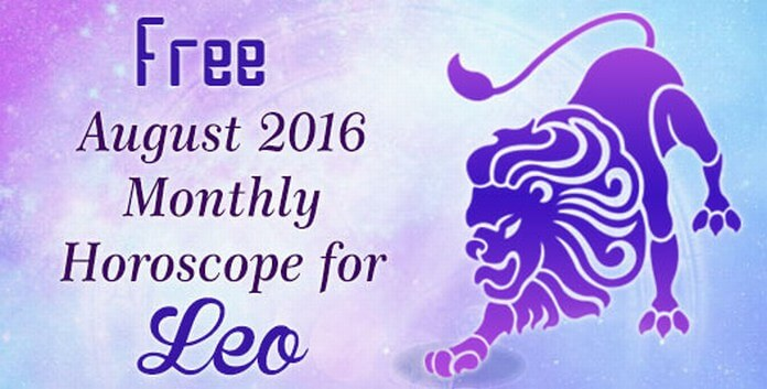 Leo August Monthly Horoscope 2016