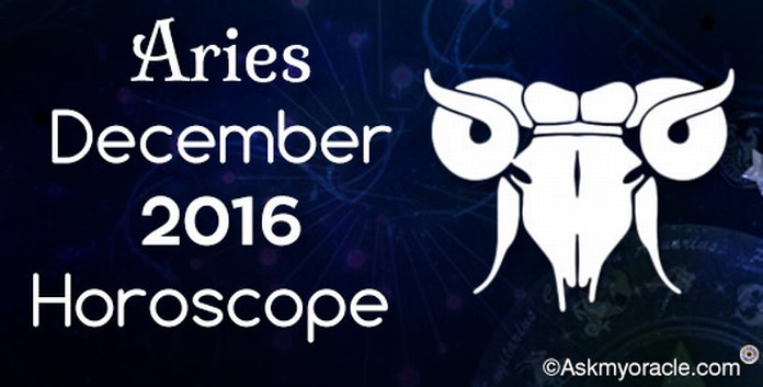 Aries December 2016 Horoscope