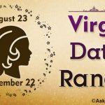 Virgo Date Range