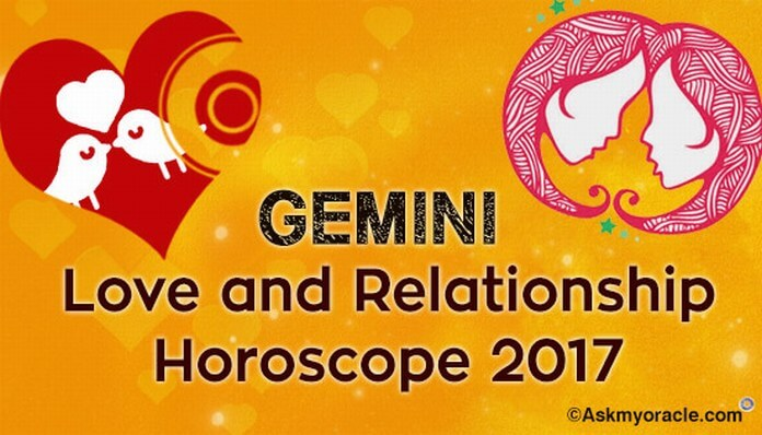 Gemini Love Horoscope 2017