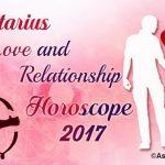 Sagittarius Love Horoscope 2017