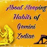 Sleeping Habits of Gemini Zodiac