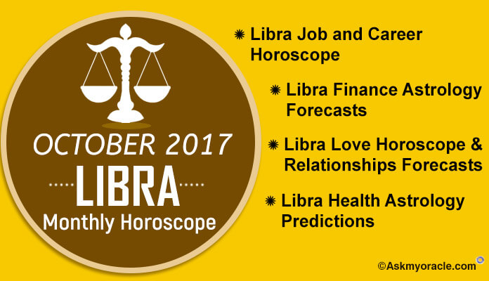 Libra Monthly Horoscope October 2017