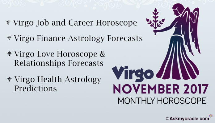 Virgo Monthly Horoscope November 2017
