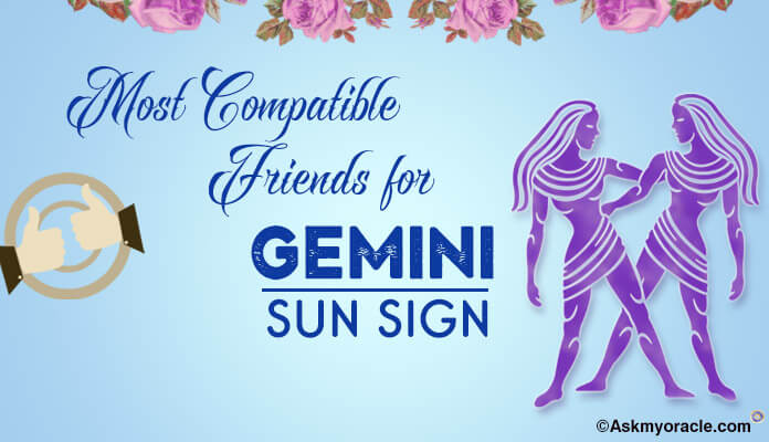 Gemini friendship sun sign compatibility, friends