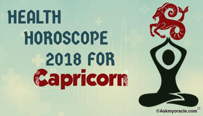 Capricorn Health Horoscope 2018