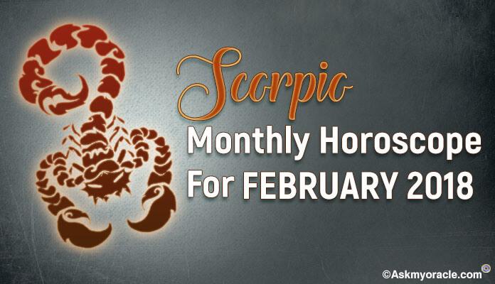 Scorpio February 2018 Monthly Horoscope