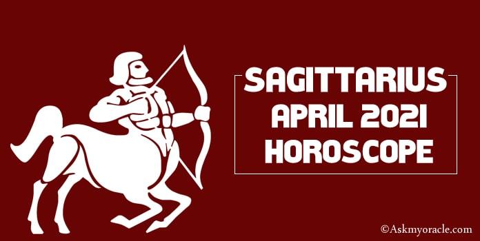 Monthly Horoscope Sagittarius April 2018
