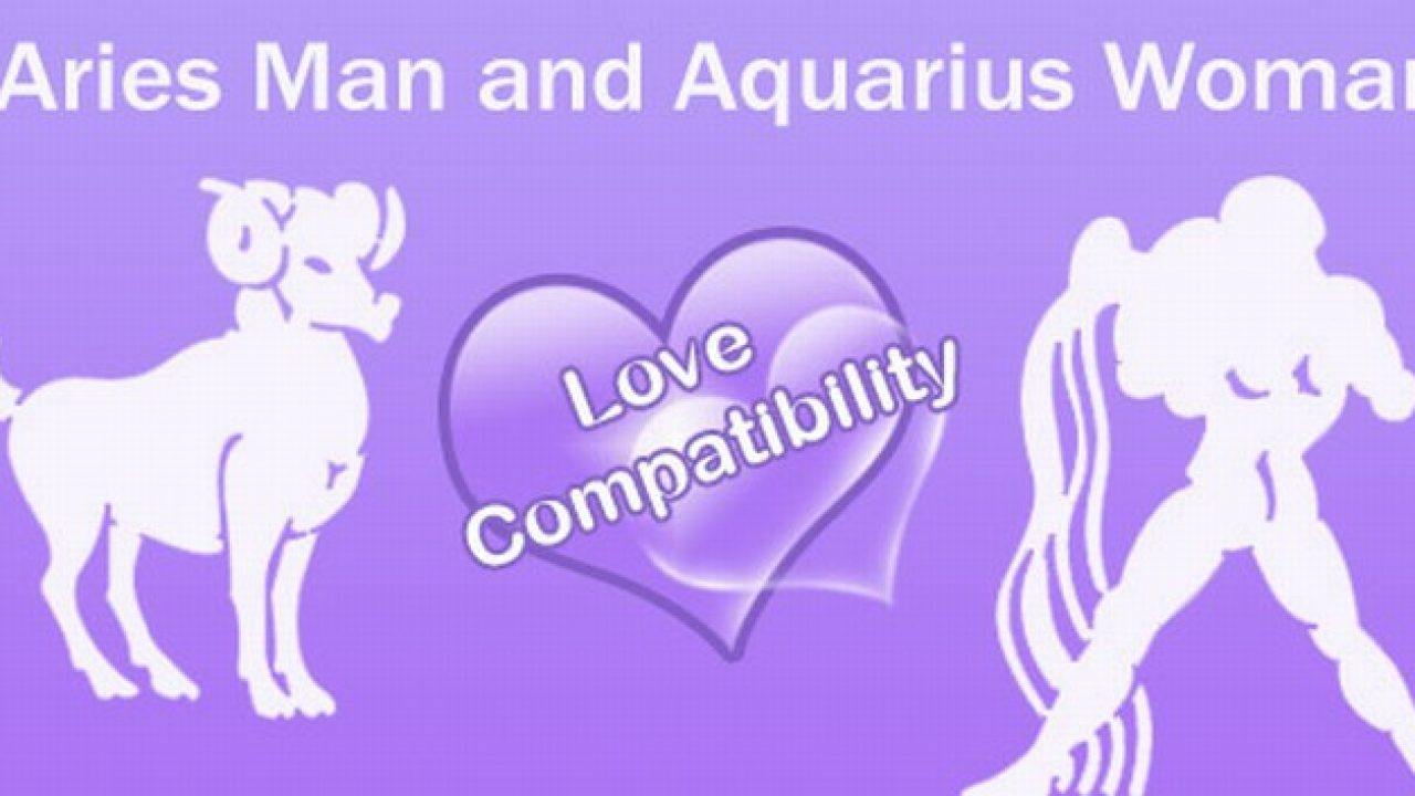 Aries Man and Aquarius Woman Love Compatibility, Love Match