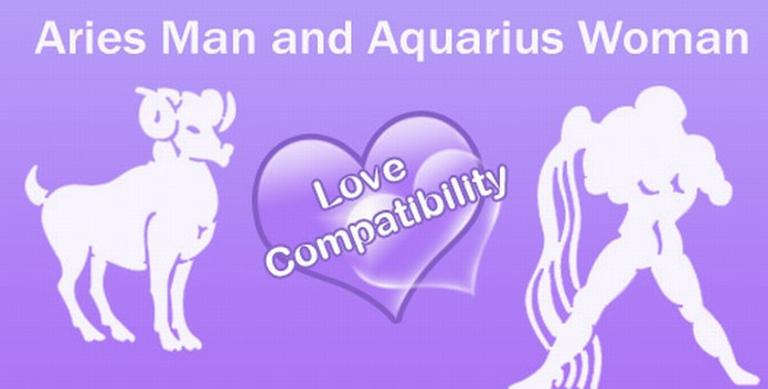 aries male and aquarius female love match
