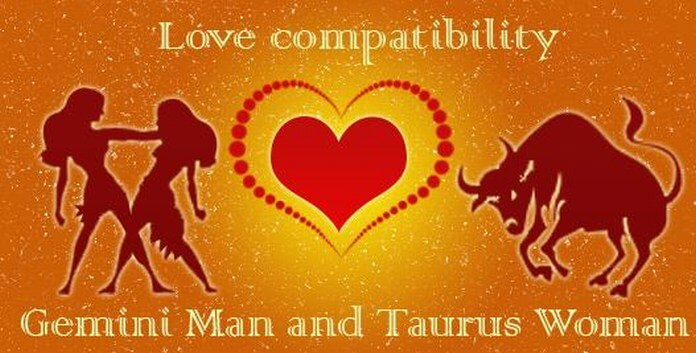 Gemini man and Taurus woman love compatibility