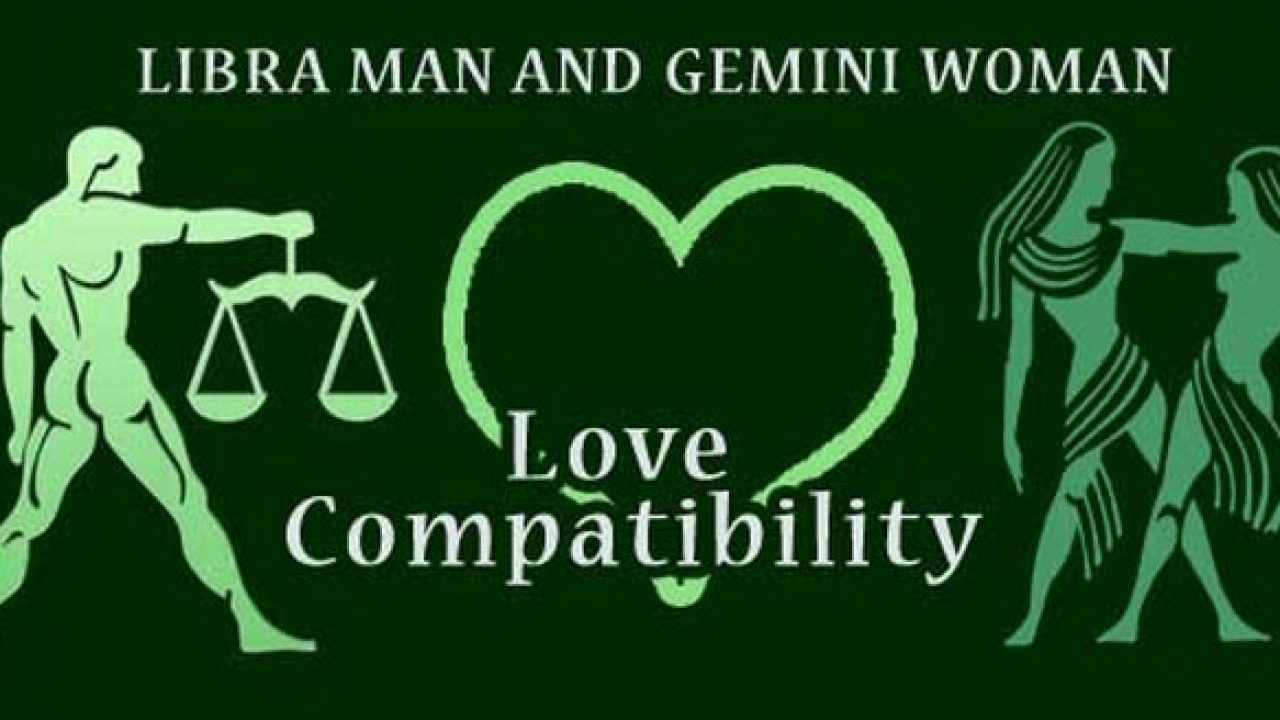 Libra Man and Gemini Woman Love Compatibility - Ask My Oracle