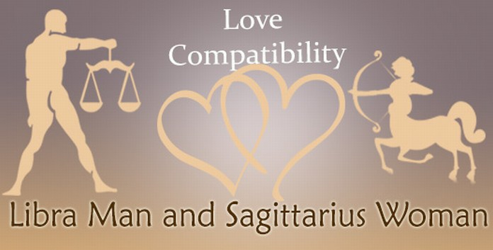 Libra Man and Sagittarius Woman Love Compatibility